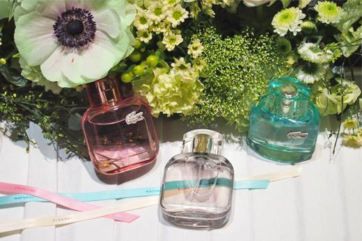 Präsentation des neuen Parfum LACOSTE L.12.12. POUR ELLE in Paris, Elegant, Sparkling, Natural , duft, damenduft, parfum, neu, online bestellen