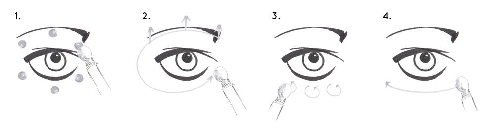 Augen Massage Stress Positive Eye Lift DI von dermalogica, Augencreme und Augenmaske