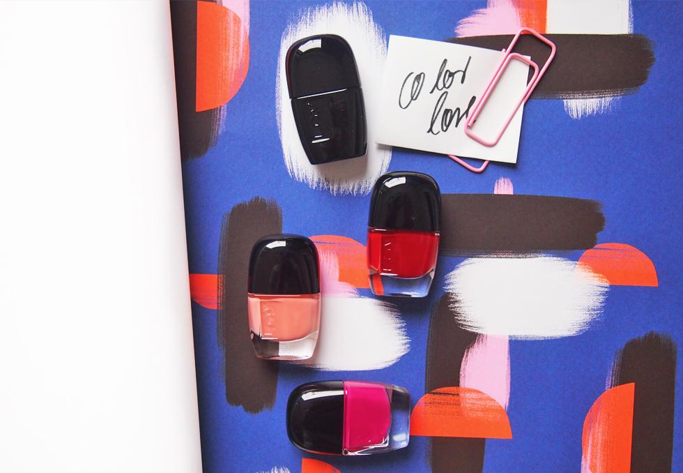 Nagellack von L.O.V. Cosmetics mit neuen Farben in Rot, Pink und Nude sowie Top Gel Coat