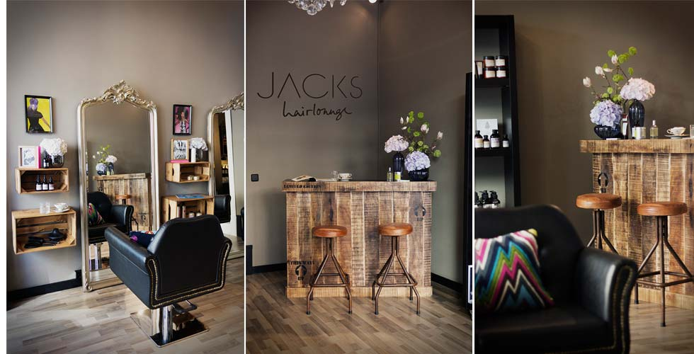 Jacks Hairlounge in Berlin von Miriam Jacks mit Jacks Beauty Department