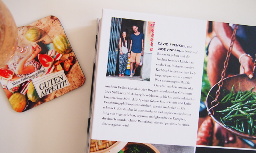 Kochbuch Die grüne Küche auf Reisen von David Frenkiel und Luise Vindahl