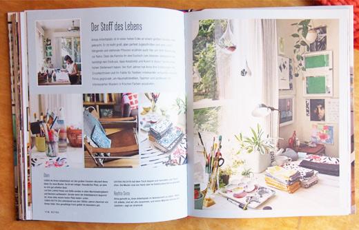 Wohnbuch Maker´s Home - Textildesignerin Anna Joyce in ihrem Atelier