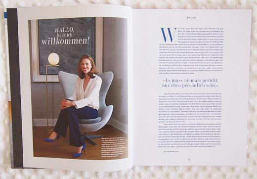 Autorin und Bloggerin Stefanie Luxat - Buch Herzlich Willkommen, Dekoration, Ideen, Rezepte