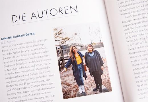 Der Mama Styleguide, dein Buch von Janine Dudenhöfer und Jules Hildebrandt, Autorin, Fotografin, Buch