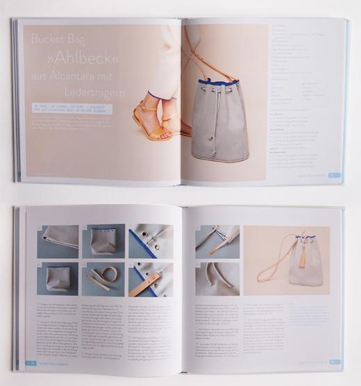 Nähbuch Ledertaschen selber nähen - Bucket Bag selber nähen und tolle DIY Anleitungen