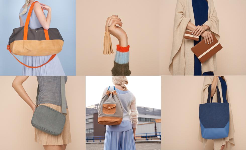 Buch Ledertaschen selber nähen von Kasia Ehrhardt mit Anleitungen und Tipps zum Nähen mit Leder, designertaschen, it bags, diy,