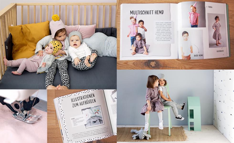 Einfach Schnittig - Kinder und Baby Kleidung selber nähen von Andrea Potocki