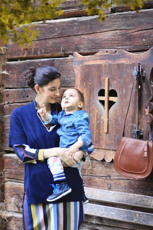 Mode für Damen und Kinder für den Herbst mit der neuen Kollektion