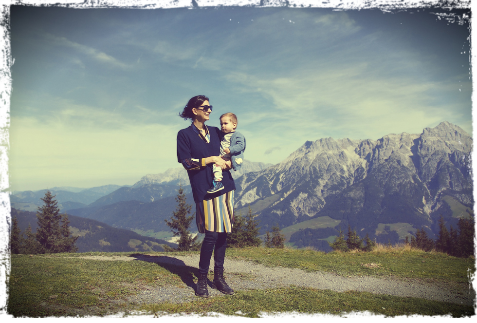 Mom son style im layer look durch den herbst the for Boden damenmode