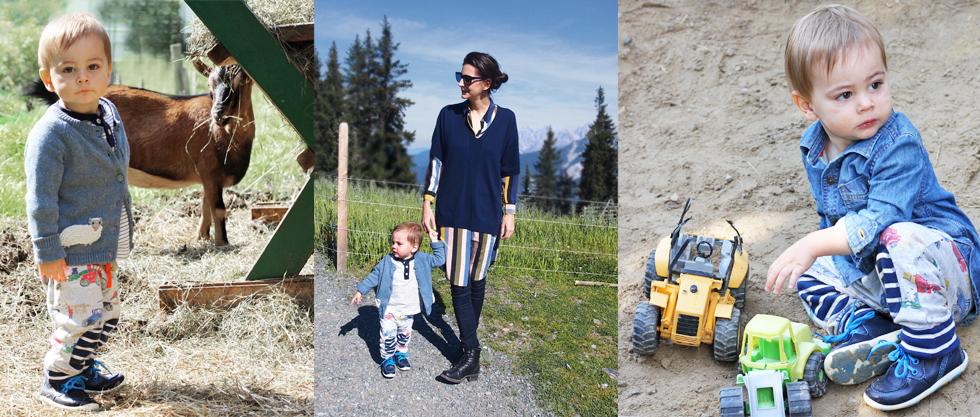 Kindermode für Jungen und Mädchen und Frauenmode mit der neuen Herbstkollektion von Boden