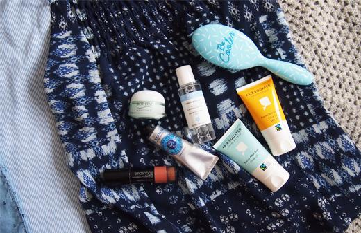 Beauty Produkte und Make-up für den Urlaub, Wet Brush, Biotherm, Ren Skincare, Sonnencreme