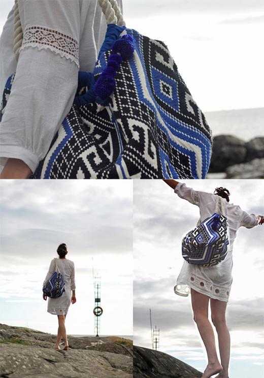 Auch das lockere Kleid von Edited the Label mir Einsätzen aus Baumwollspitze, Styling, outfit, sale