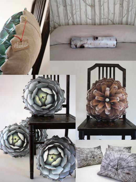 Kissen mit Fotodruck von Plantillo mit Natur und Pflanzen Motiven über Etsy bestellen