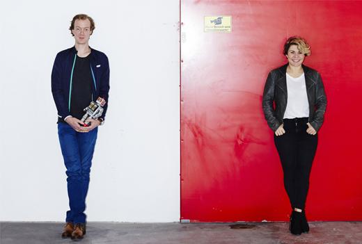 BUTIQ Gründer Matthias und Stella aus Mannheim