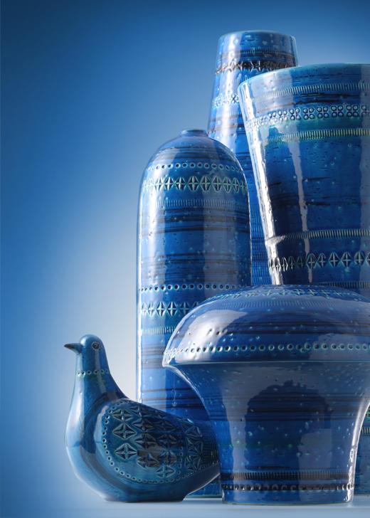 Rimini Blue Keramik von Bitossi
