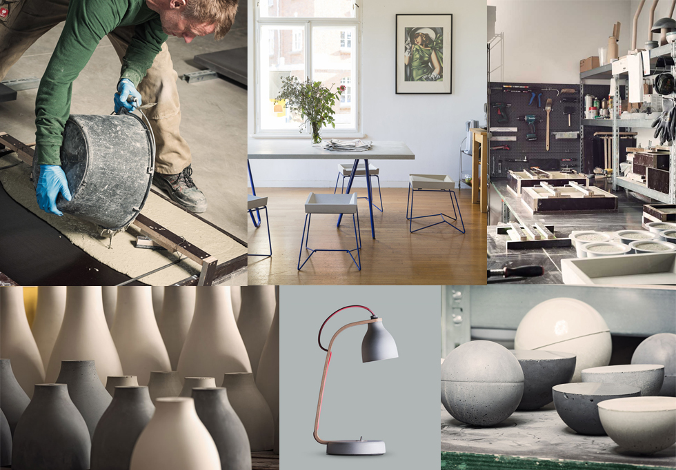 Möbel, Wohnaccessoires und Dekoration aus Beton von Betoniu aus Leipzig online bestellen