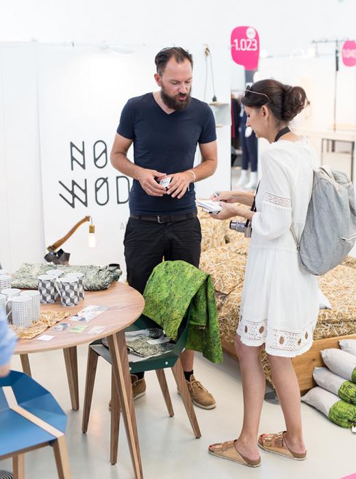 Onlineshop für polnische Möbel und Wohnaccessoires No Wodka in Berlin als Aussteller auf der Blickfang