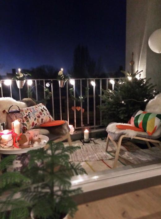 Meine Kleine Winter Lounge Dekoration Fur Die Kalten Tage The