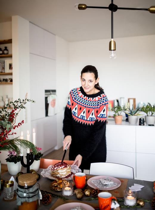 Ikea Dekoration Weihnachten und Winter Lounge von Berit Müller