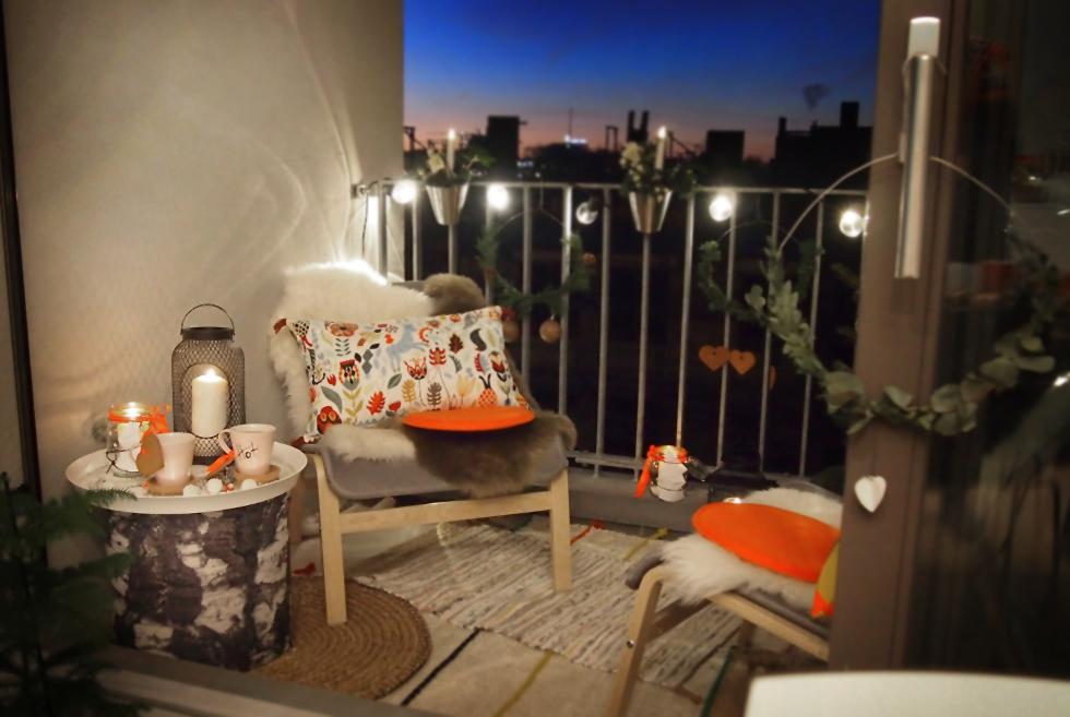 meine kleine winter lounge dekoration f r die kalten tage the. Black Bedroom Furniture Sets. Home Design Ideas