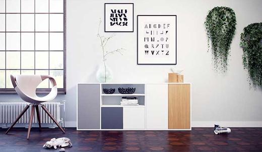 modulare regale sideboards boxen wohndesign und. Black Bedroom Furniture Sets. Home Design Ideas