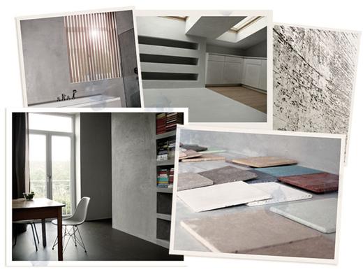Lehmputz, Terrastone und Betonoptik frür Wände selbst auftragen