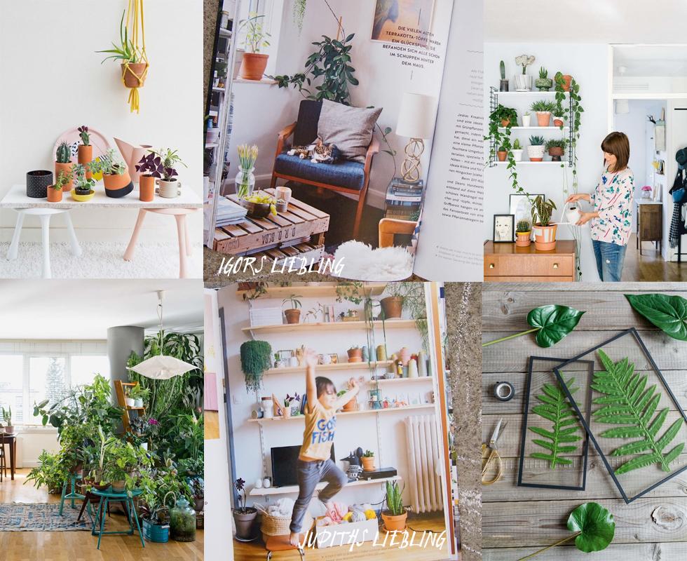 Buch Wohnen in Grn von den Urban Jungle Blogger Autoren Igor Josifovic und Judith de Graaff mit Tipps und Ideen zu Pflanzen, Einrichtung, Dekoration und DIY