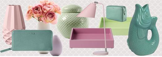 Wohnaccessoires und Dekoration in Pastell - Wohntrend