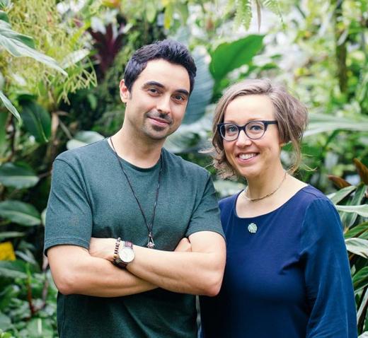 Buch Wohnen in Grün von den Urban Jungle Blogger Autoren Igor Josifovic und Judith de Graaff mit Tipps und Ideen zu Pflanzen, Einrichtung, Dekoration und DIY