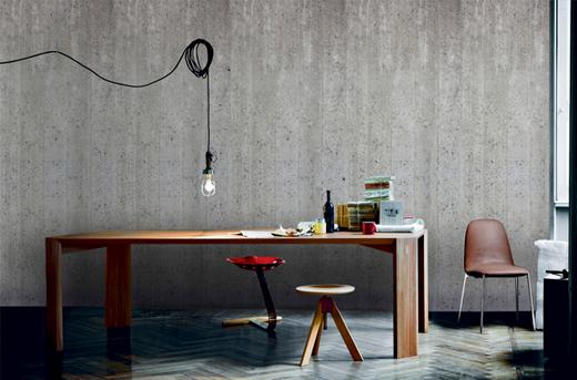 Fototapete mit Beton Muster von Photowall online bestellen, print, motiv concrete