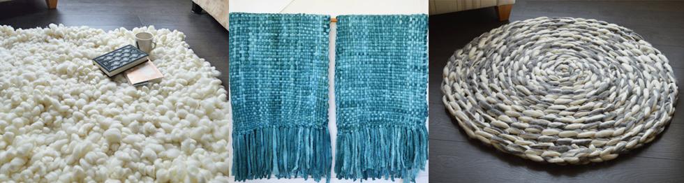 Teppiche und Decken in dicker Wolle von BroadwickFibers