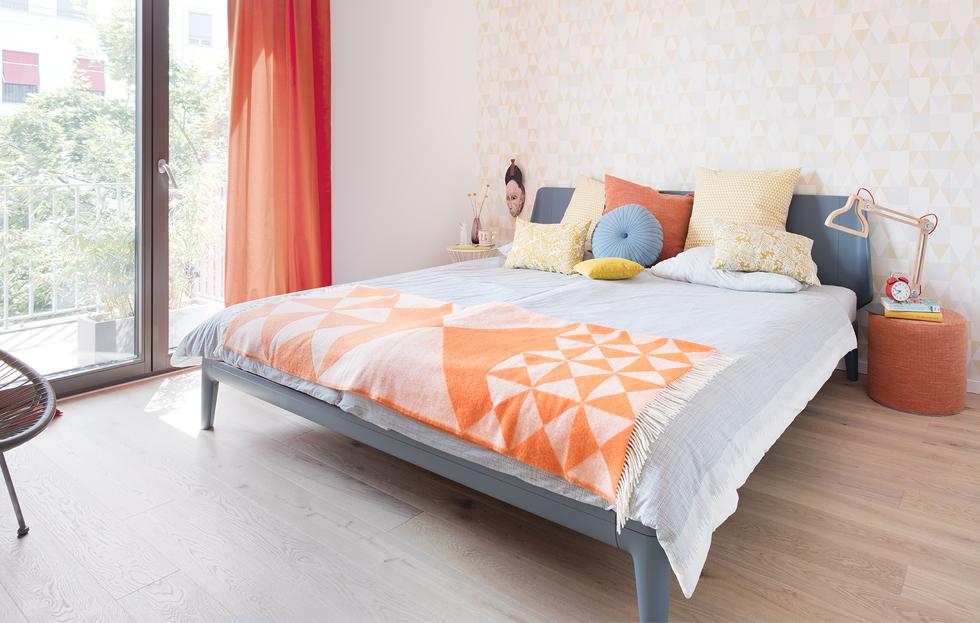 unser gro es familienbett schlafen und genie en auf 4m the. Black Bedroom Furniture Sets. Home Design Ideas