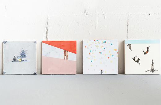 Fliesen und Kacheln von StoryTiles mit Kunst, Illustration und Bildern bedruckt für Küche, Bad und Dekoration