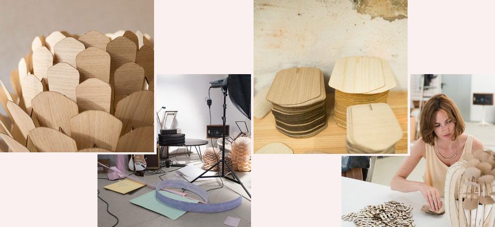 Holz-Designstücke von Designstudio Schneid