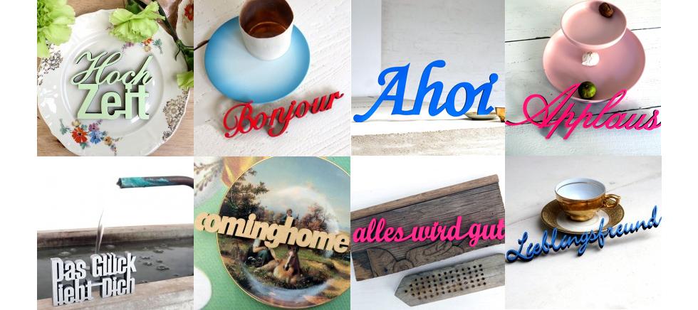 NoGallery - Zitate, Sprüche, 3D Statements und Wandmotive selbst entwerfen und online bestellen