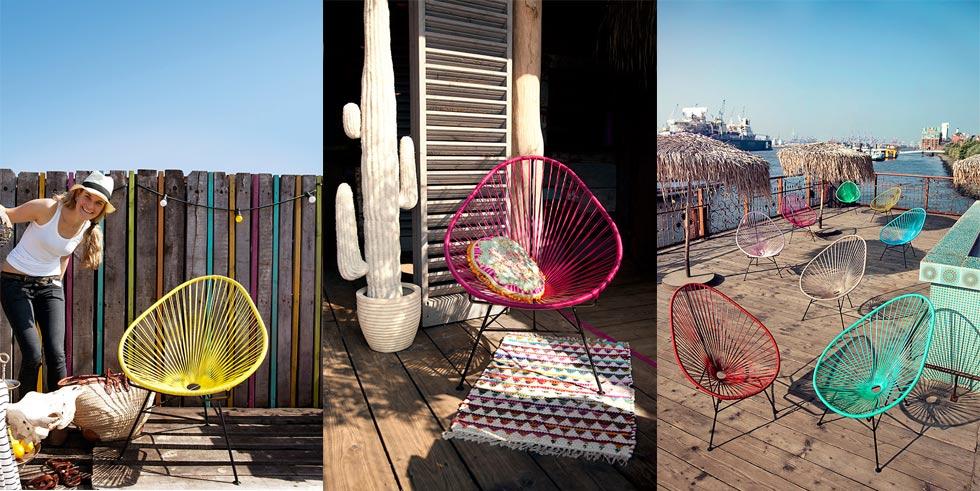 Ines Lopin aus Hamburg mit ihrem Online Shop VIVA MEXIKO CHAIR, Acapulco Chairs online bestellen