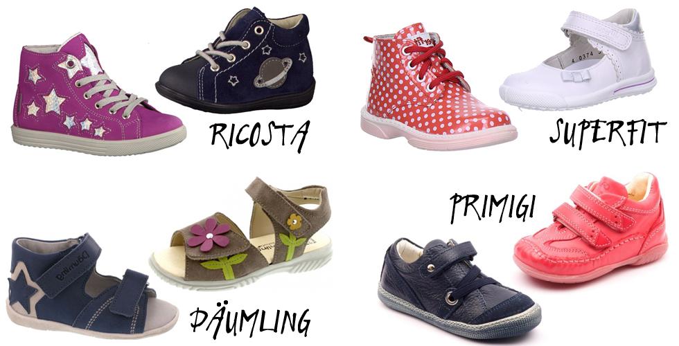 Kinderschuhe richtig kaufen - die besten Schuhmarken von Pepino Ricosta, Primigi, Däumling und Superfit, regeln, tipps, kauf beachten