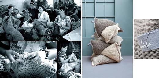 Sitzsack, Kissen und Accessoires fürs Kinderzimmer von Zilalila, Fair Grobstrick aus Nepal, online bestellen, möbel, strick, dekoration