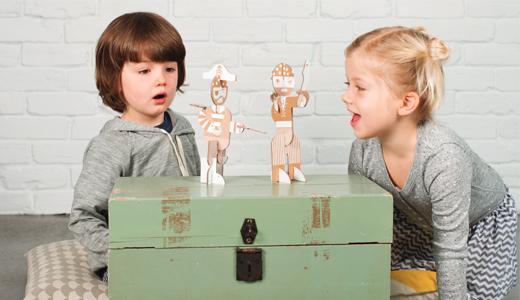 Flatout Frankie - Spielzeug aus Pappe, Figuren aus Pappe, Basteln, diy