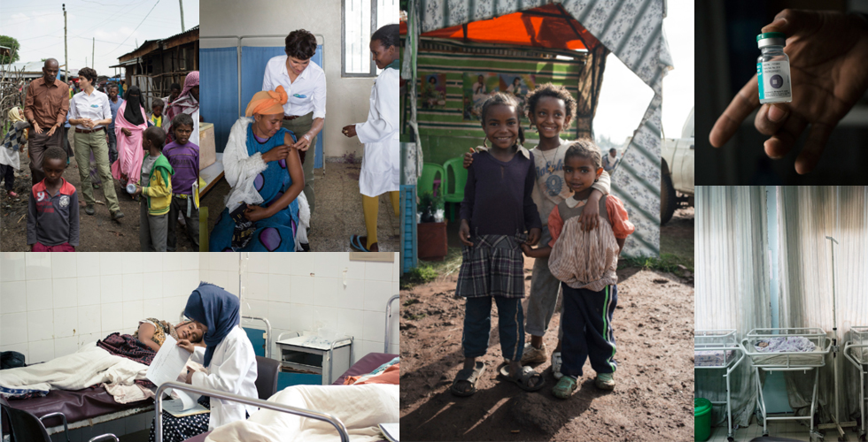 Pampers für UNICEF - eine Kampagne mit Botschafterin Jasmin Gerat zur Unterstützung der Tetanus Impfung in der Dritten Welt