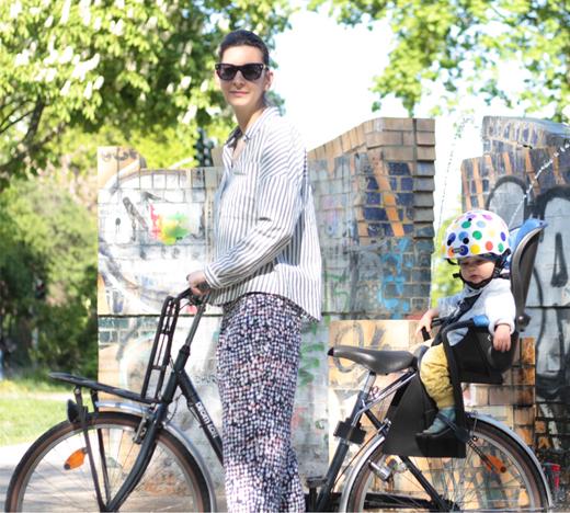 fahrradsitz Römer Jockey für Kinder im Test und weitere Empfehlungen zum Thema Sicherheit, Fahrradhelm, kinder, Baby, nutcase