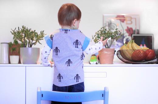 Kindershirt selbst nähen mit den kostenlosen Schnittmustern der VOX-Sendung Geschickt eingefädelt