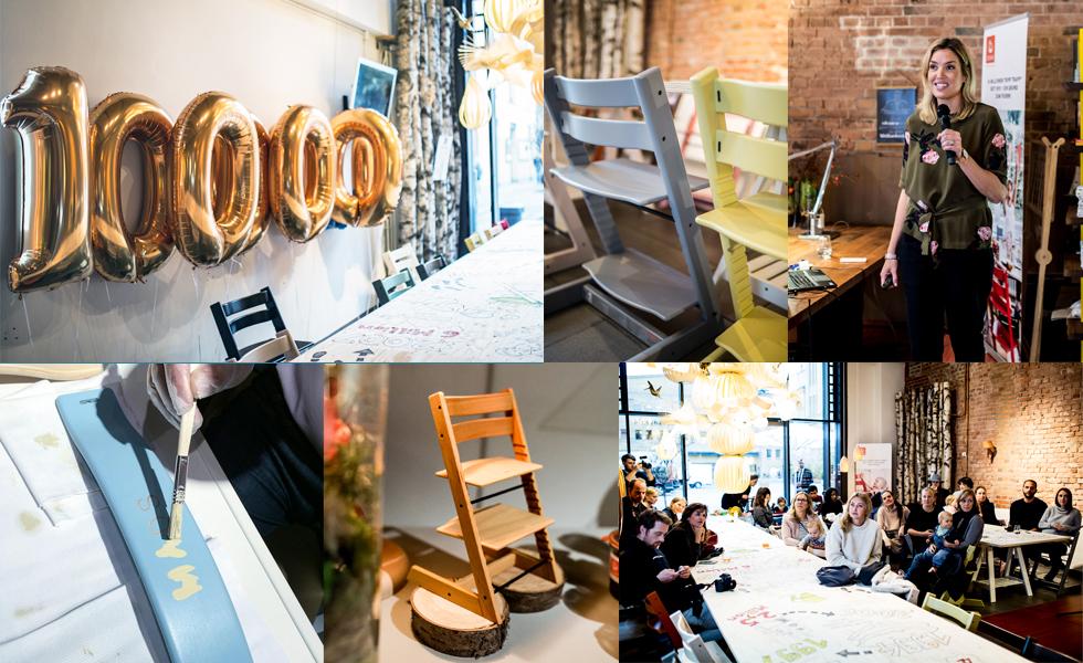 Bloggerevent zum Jubiläum, 10.000.000 verkaufte Tripp Trapp Kinderstühle mit einer Special Editon in Eiche