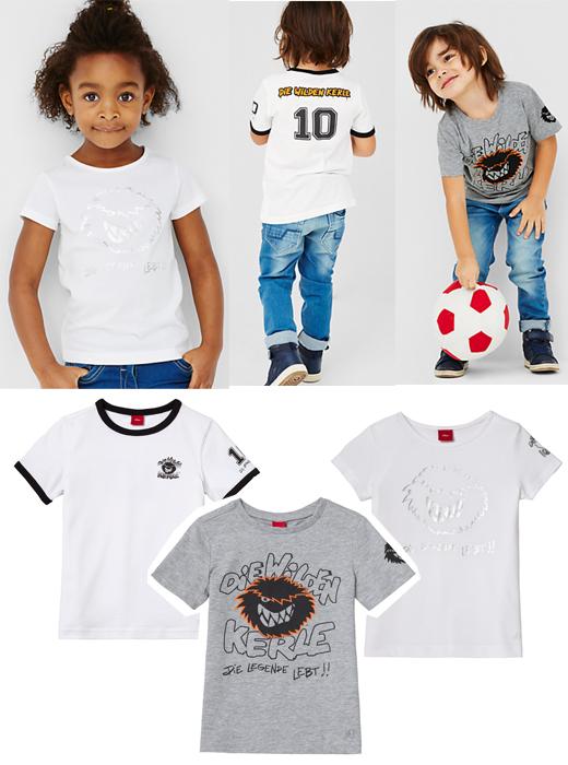 T-Shirts von s.Oliver zum Film Die wilden Kerle gewinnen
