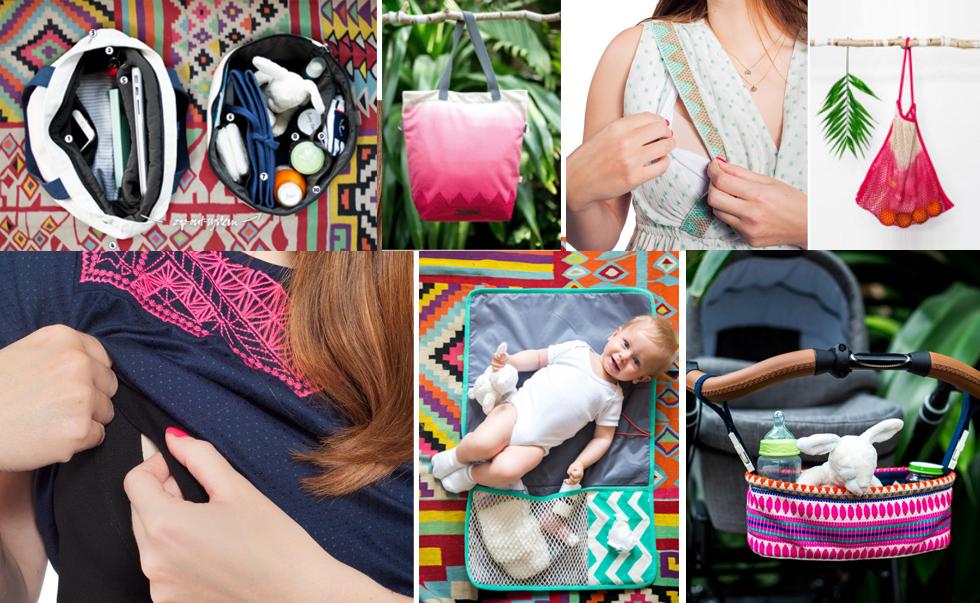 Schwangerschaftsmode, Stillmode und Wickeltaschen von mara mea