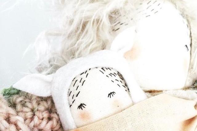 Geburtsgschenk - Puppadolls von Anika van Loon