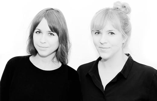 Modelabel für Kinderkleidung und Wohnaccessoires,Designerinnen Anne Wendlandt und Anna Wetzel, Gründerinnen des Labels Anny Who