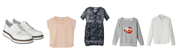 Neues Label Seek no Further von Fruit of the Loom mit Sweatshirts, Schuhen, T-Shirts, Röcken und Jeans für Männer und Frauen