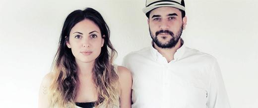 Label Gründer und Designer von eve & adis, Eva-Maria Scheyer (eve) and Adis Mataruga