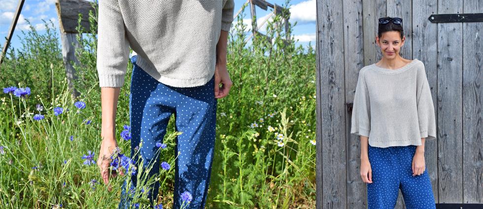 Maska, Modelabel aus Schweden mit der Sommerkollektion 2016, Strick und Pyjamalook